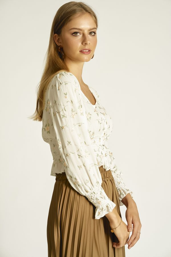 EMBROIDERY TOP (325866)