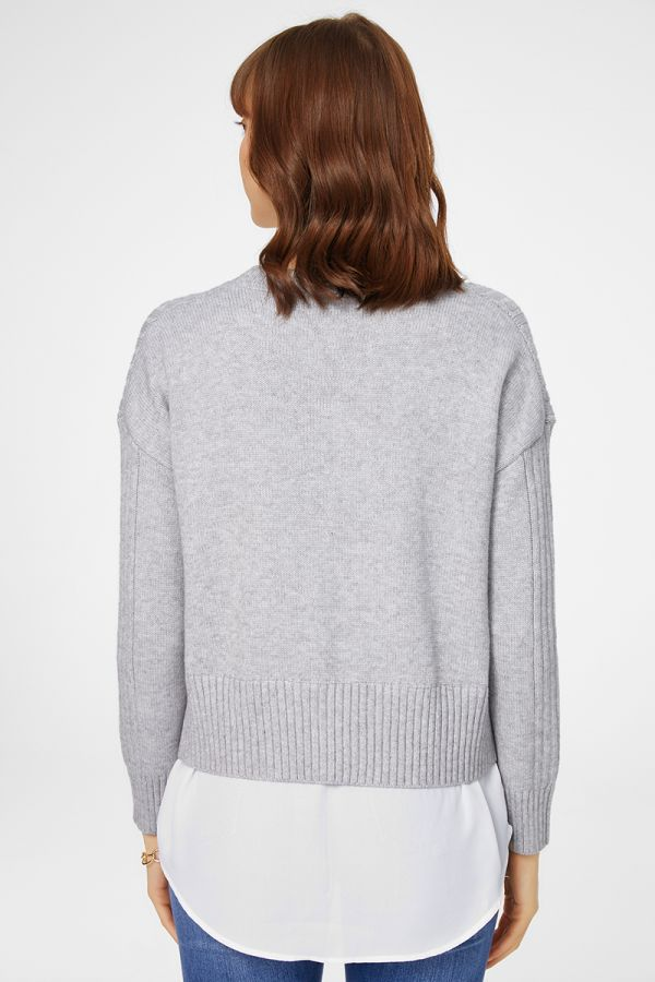 WOVEN COMBINED CABLE KNIT (325948)