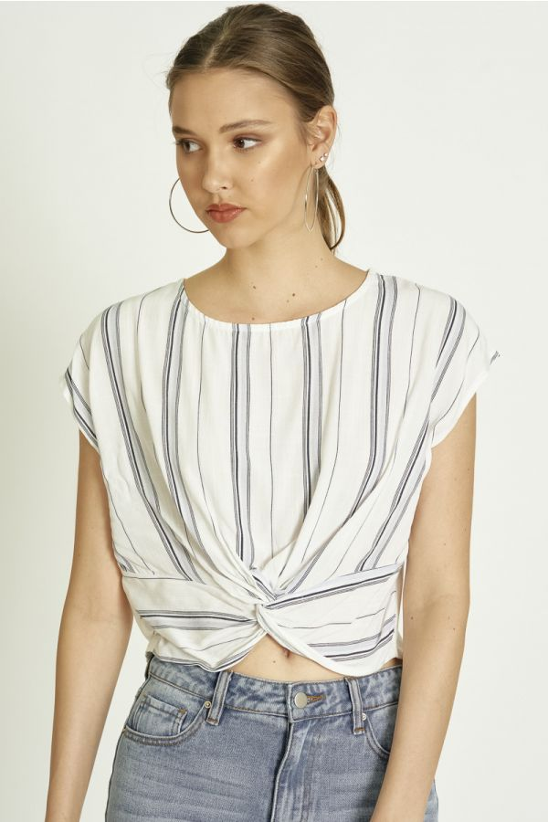 STRIPE COMBI TOP (326003)