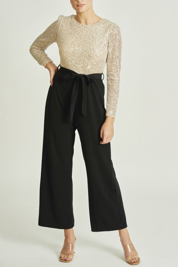 SEQUINCED JUMPSUIT (326025)