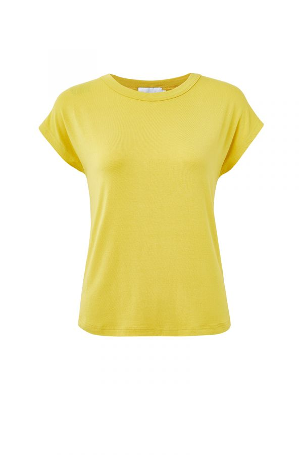 ODETTE DROP CAP SLEEVE TEE