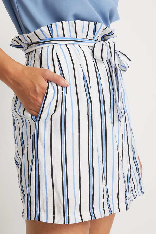 TINA STRIPE MINI SKIRT