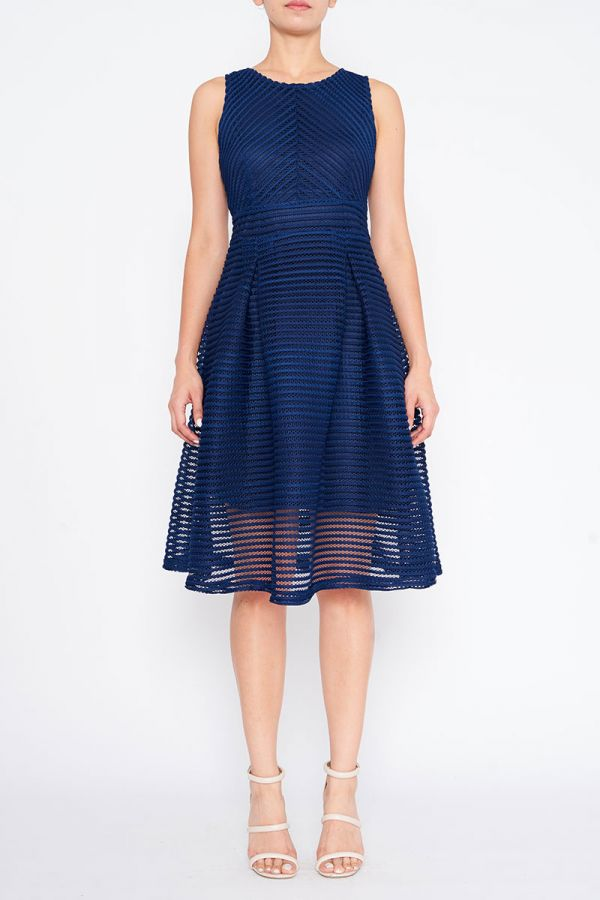 MADDIE FIT AND FLARE DRESS
