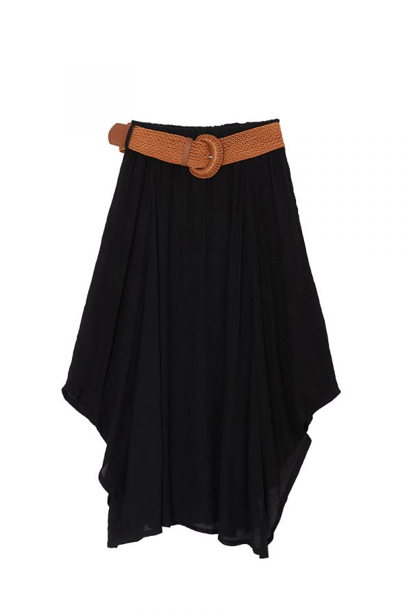 GLADYS MIDI SKIRT WITH BELT