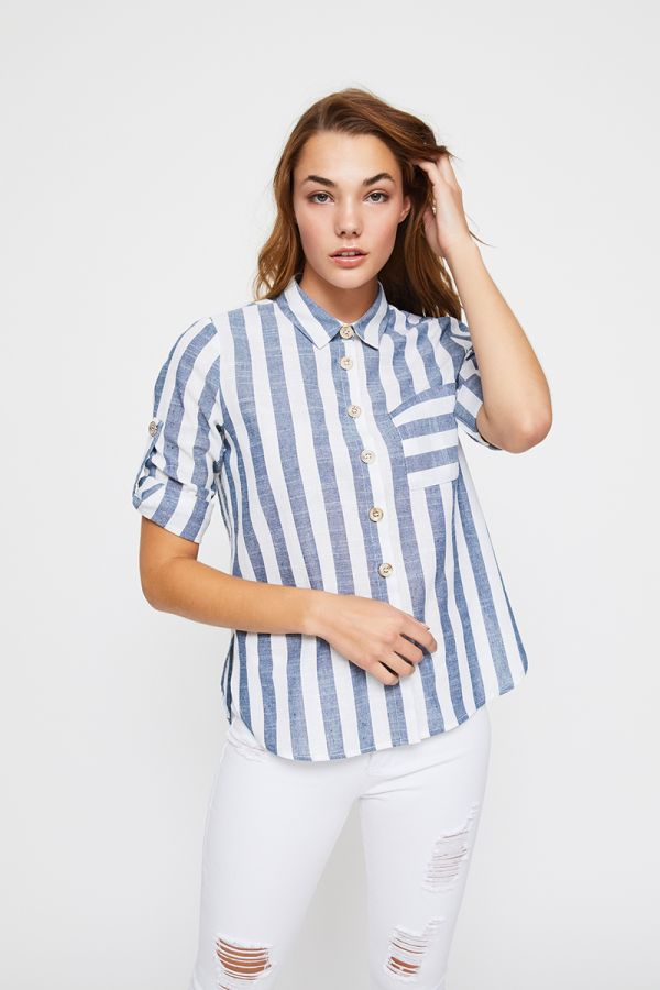 TINA STRIPED SHIRT