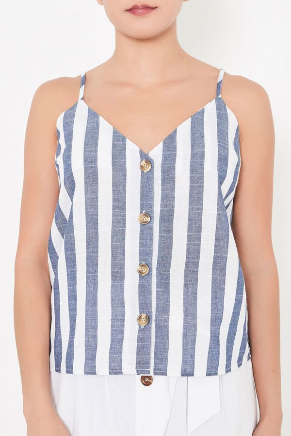 ASTRID BUTTON FRONT CAMI TOP