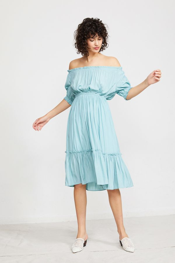 BARBARA OFF SHOULDER DRESS
