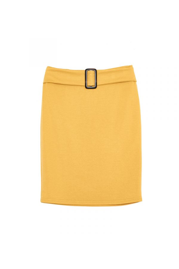 CASSEDY BELTED PENCIL SKIRT