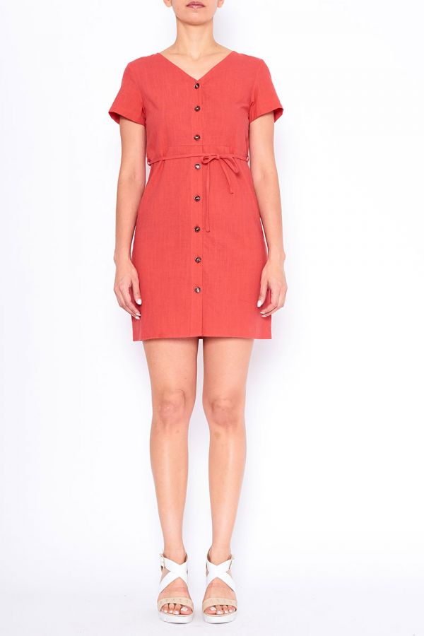GRACE BUTTON UP DRESS