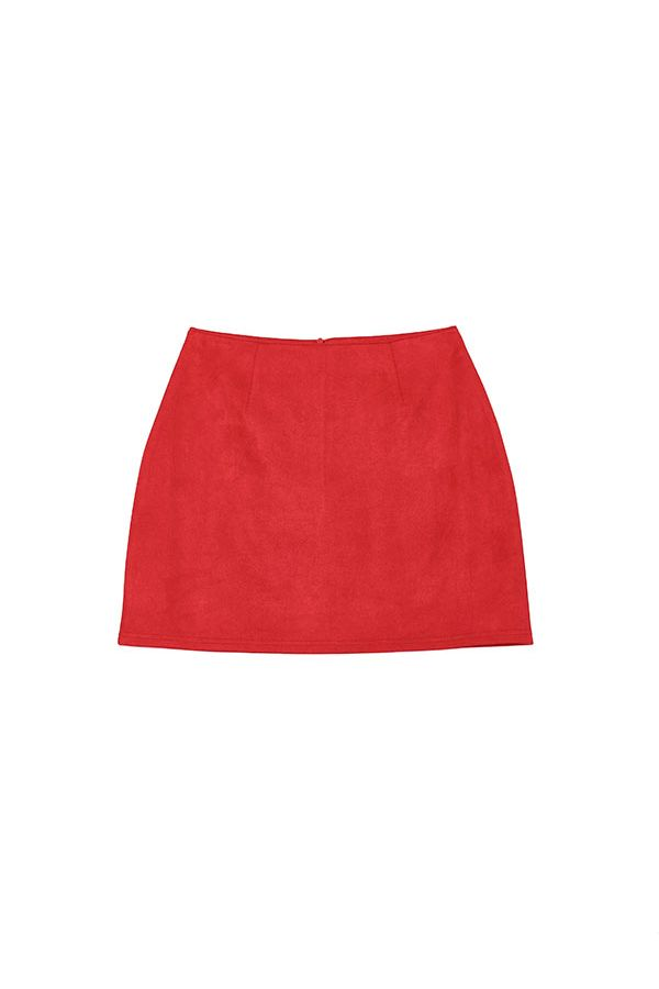 LYDIA SUEDE MINI SKIRT