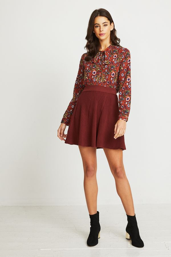 WILD AT HEART BLOUSE