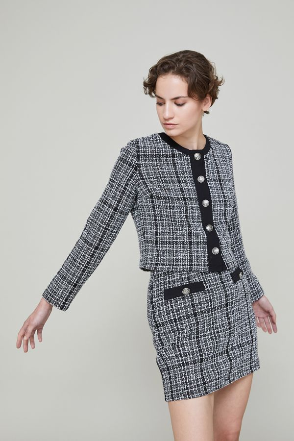 KATIA TWEED JACKET (319480)